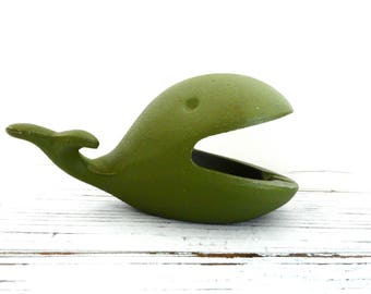 Mid Century Whale Ash Tray- Office Decor