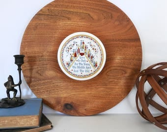 Love is Only For Everyone- Berggren Tile- Round Serving Board- Kitchen Decor