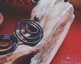 Hoop Earrings with Studs