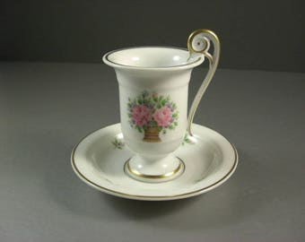 Kaiser West Germany, Marseille Pattern Demitasse Cup and Saucer