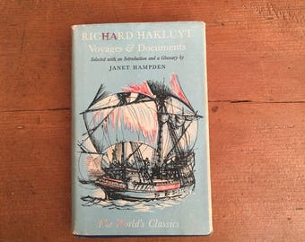 Vintage Book - Richard Hakluyt Voyages & Documents