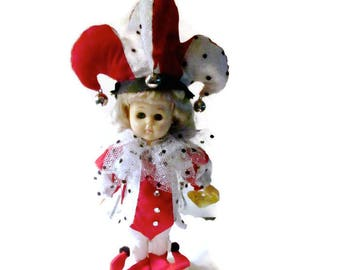 Vintage Vogue Ginny Doll Court Jester 1988 Fantasy Collection