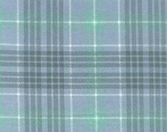 Nursery Flannel Fabric - Hayden Sweet Plaid - 31 inches