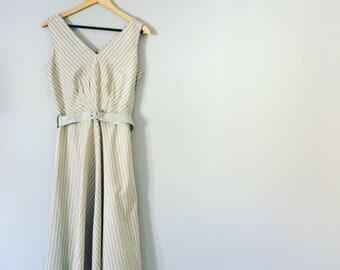 Vintage 1970s / 80s Summer Dress