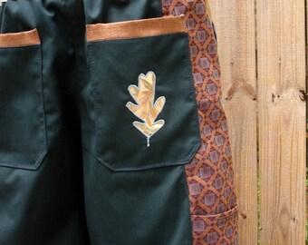 mens patchwork Shorts mens handmade green geometry hippie orange geometry seven pocket 30 32