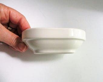 Vintage Soap Dish Homer Laughlin Ironstone