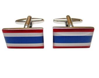 Thailand Flag Cufflinks