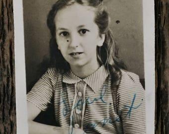 Original Vintage Photograph Sweet Janet 1946