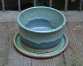 Terrific Small Stoneware Ceramic Planter