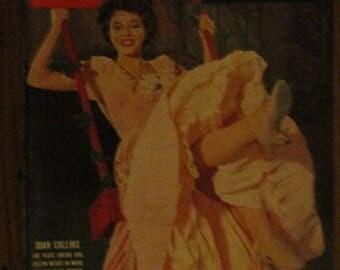 September 12, 1955 LIFE MAGAZINE Joan Collins