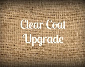 Clear Coat Upgrade