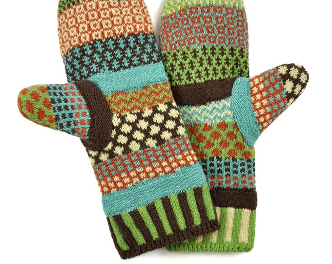 Solmate Accessories - September Sun Fleece Lined Mittens Limited - Available to order through midnight November 27th!