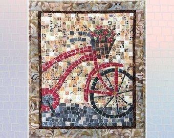 Bicycle Mini Mosaic Quilt Kit