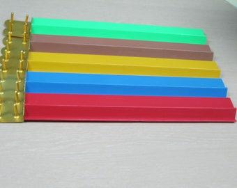 Mahjong replacement tile racks