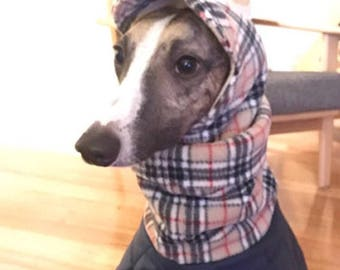 Greyhound and whippet fleece hats