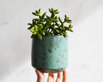 Ceramic Planter - Pottery Planter - Succulent Planter - Stoneware Planter