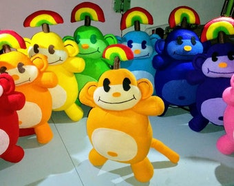 Rainbow Monkey *MADE TO ORDER*