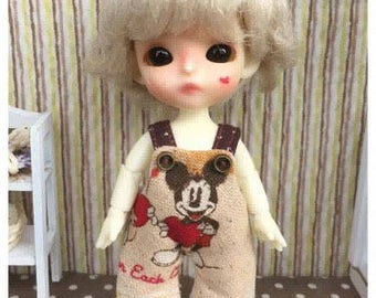 """Lati White Outfit : """"Mickey Mouse Overall"""" (Overall)"""