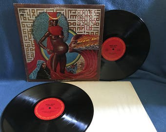 "RARE, Vintage, Miles Davis - ""Live Evil"", Vinyl 2 LP Set, Record Album, Original First Press, Herbie Hancock, John McLaughlin, Jazz Fusion"