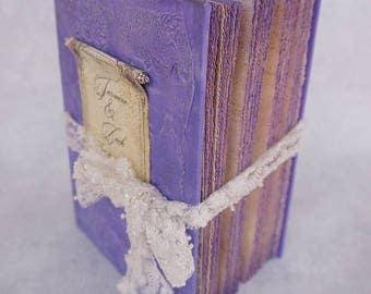 Fairytale Wedding Guest Book,Lilac and Silver, Photo album, Shabby Chic Wedding, Custom Wedding Photo Booth album