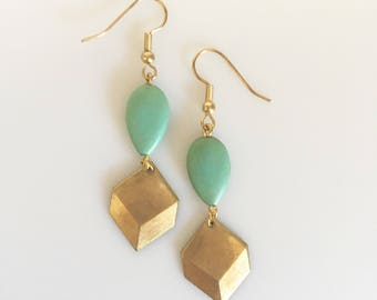 SALE! Turquoise Love Earrings