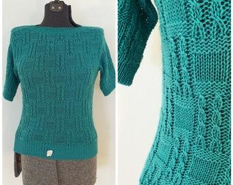 Vintage NOS Knit Top / Med/Large / Haberdashery Collection