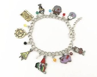 Gravity Falls inspired bracelet