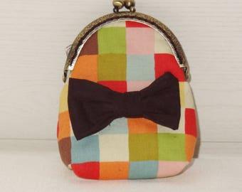 Handmade retro frame coin purse