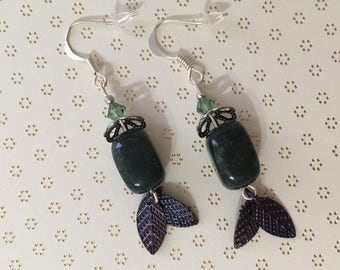 Greendrop earrings