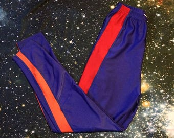 Vintage The Body Co. Brand Tri-Colored Workout Athletic Leggings