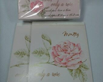 Vintage Writing Paper, Vintage Envelopes, Stationery Set