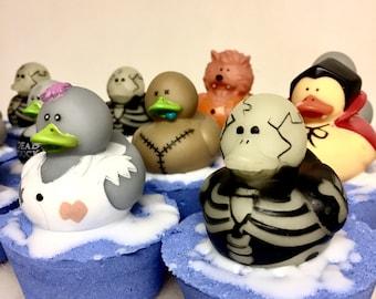 Halloween Bath Bomb Rubber Ducky