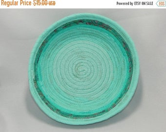 Summer Sale fabric coiled clothesline bowl