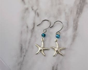 Sea View Earrings