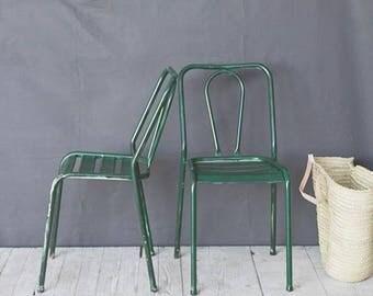 Deep Green Bistro Chair