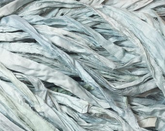 SARI SILK RIBBON - Celeste Blue