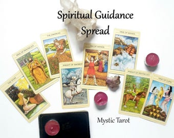 Spiritual Guidance Spread Tarot Card Reading, Oracle Cards Same Day Reading, Advise Cards Tarot Reading, Psychic Reading by Clairvoyant