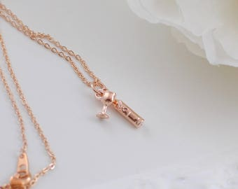 The Cordelia Necklace - Rose Gold