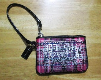 Authentic Coach purse Wallet bag Girly style