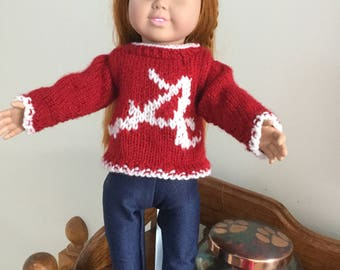 Alabama Doll Sweater