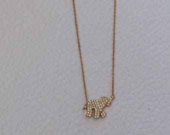 Gold Elegant Necklace
