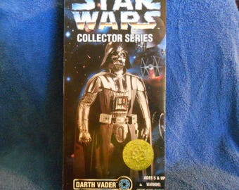 """1996  Kenner Star Wars Darth Vadar Action Figure-Never Out Of Box-12"""""""
