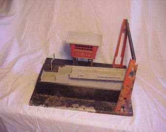c1950s Lionel No. 345 Lionelville Culvert Pipe Co. O Gauge Model Train Manual Accessory for restoration has the conveyor also