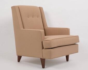 "Dunbar's High Back ""Mr."" Lounge Chair by Edward Wormley"
