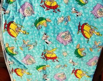 Rocko's Modern Life quilt