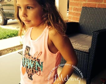Small Town Texas Girl Custom Tee Shirt - Customizable -  Infant to Youth 92a