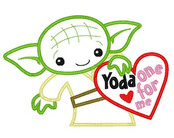 Custom Yoda One for me Valentine Shirt  - Valentines custom shirt