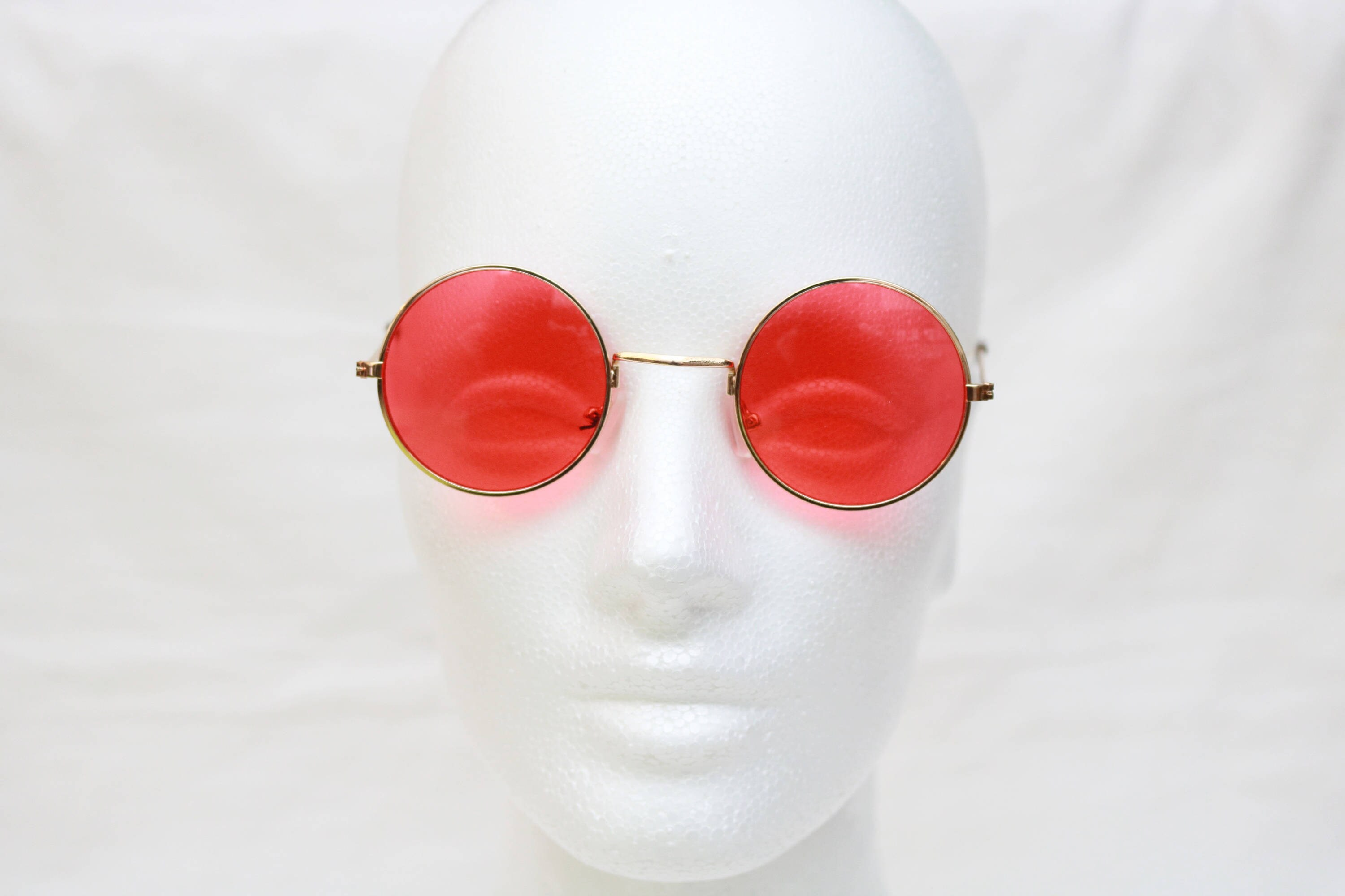 vintage regis john lennon style round sunglasses. Black Bedroom Furniture Sets. Home Design Ideas