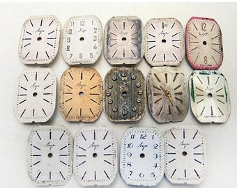 ON SALE Small Watch Faces - set of 14 - c123