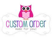 Custom Listing for Trisha Rotellini